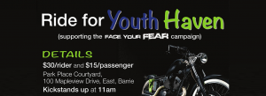 ride for youth haven