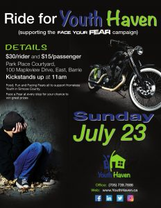 1st Annual Ride for Youth Haven
