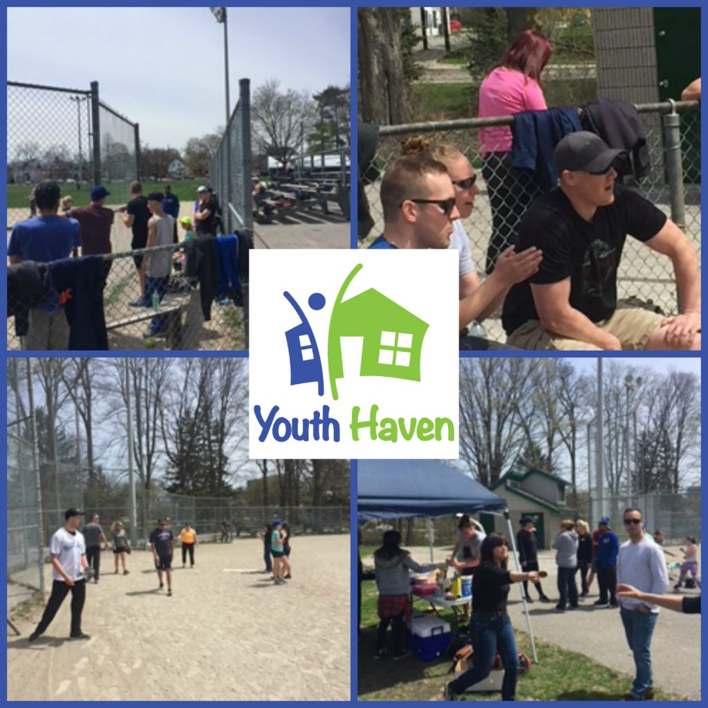 Youth Haven and Cops Play Some Baseball